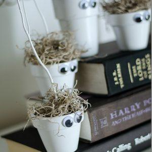 Halloween Kid Craft: Monster Pots