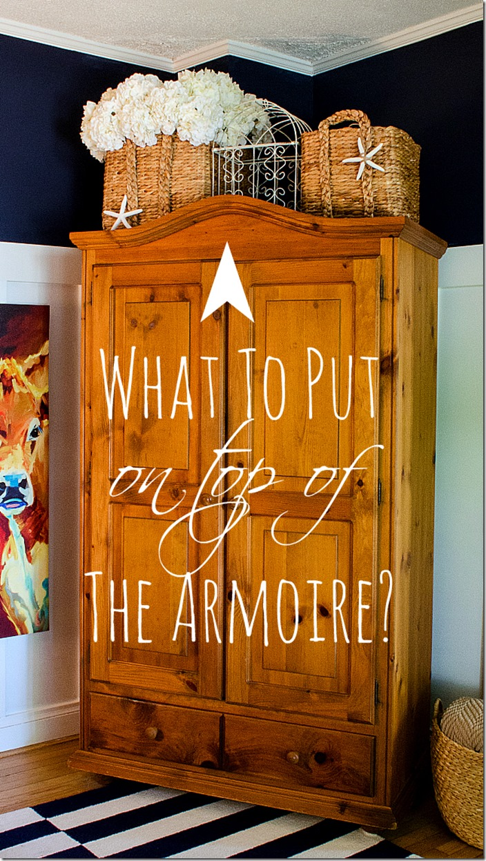 How-to-Style-top-of-armoire-cabinet