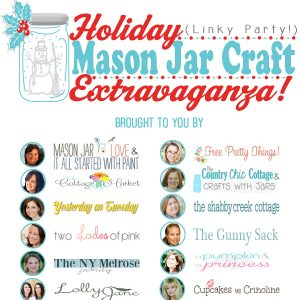 Holiday Mason Jar Party