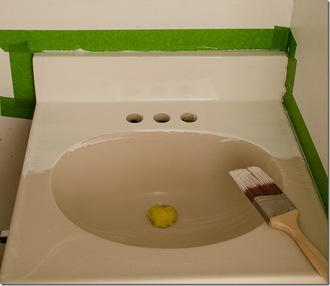 epoxy paint for bathroom sink how to paint a sink 23142