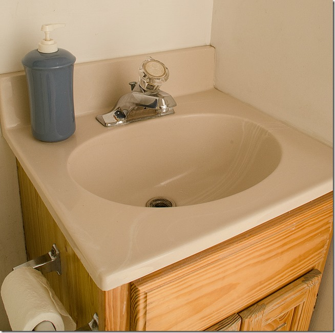 how to paint a sink 12 - Bathroom Cabinets Sink