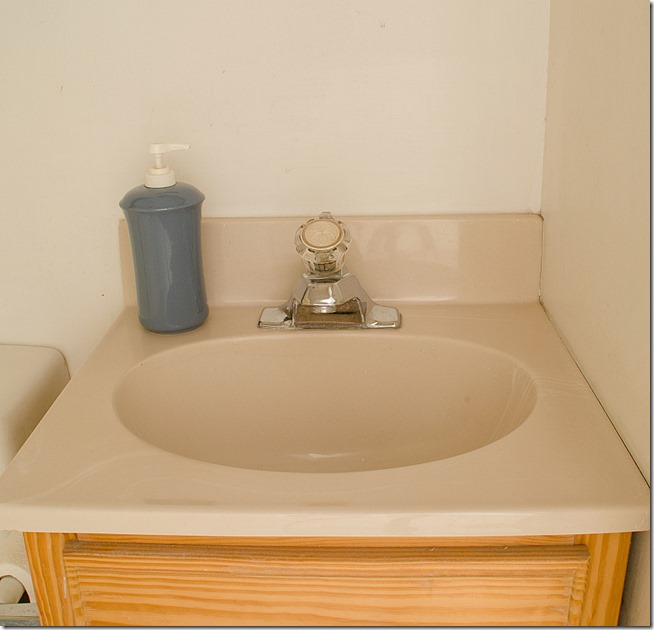 Bathroom Sink Yellow how to paint a sink