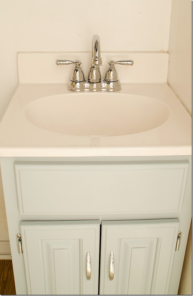 how to paint a sink 20 - Bathroom Cabinets Colors