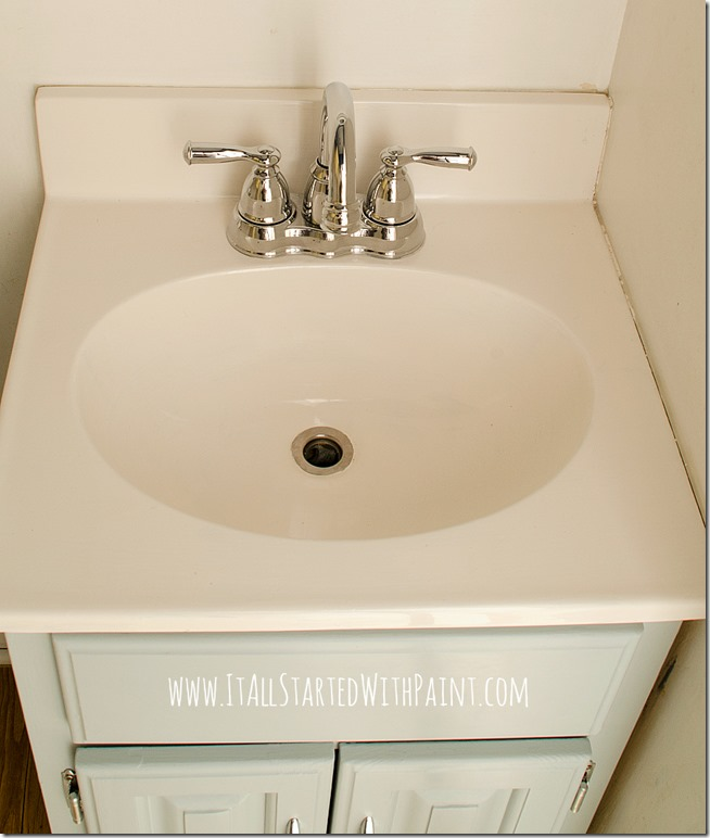 How To Paint A Sink {For An Easy Upgrade!}