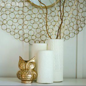 Sweater Vases