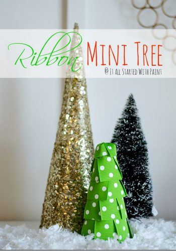 Mini Trees 4 Ways