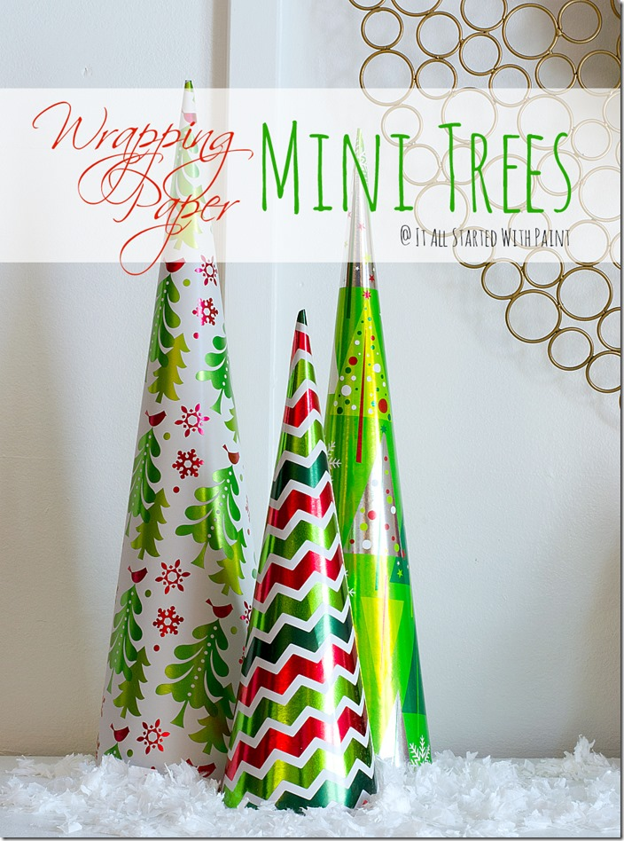 Mini-Trees-wrappping paper