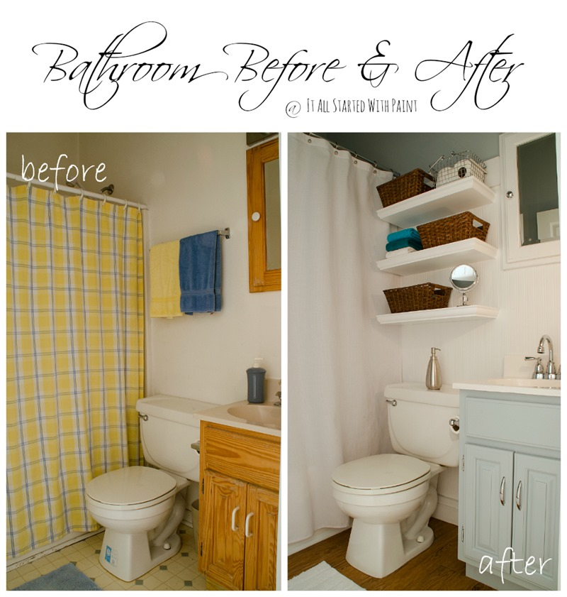 Blue And White Bathroom Small Space Solutions