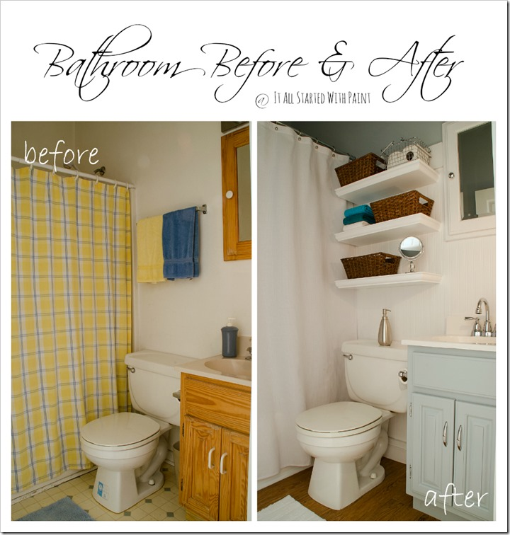 charming blue bathroom color schemes | Bathroom Paint Colors - It All Started With Paint