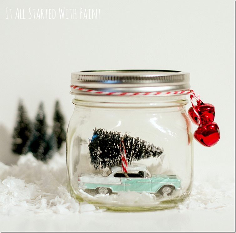 car-with-tree-in-mason-jar-christmas-decoration-2 2