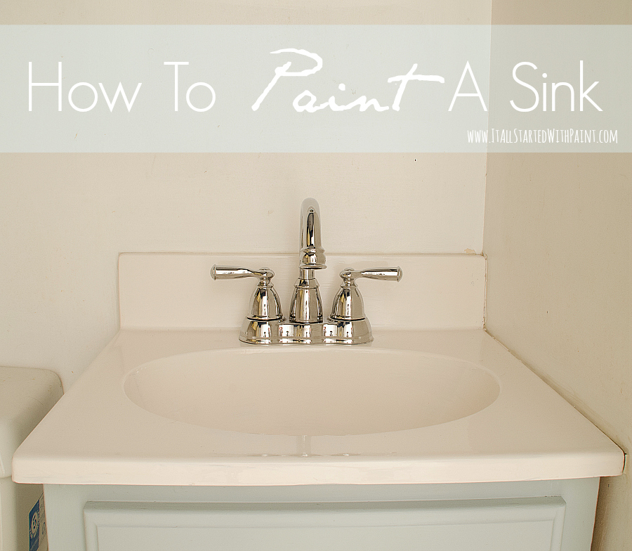 Paint for a fiber glass sink