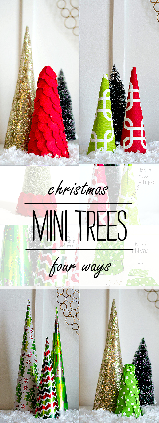 Christmas Crafts - Mini Trees