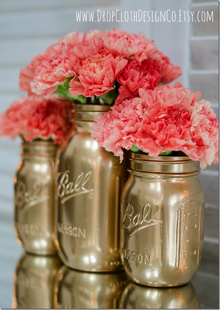 gold-painted-mason-jars-2
