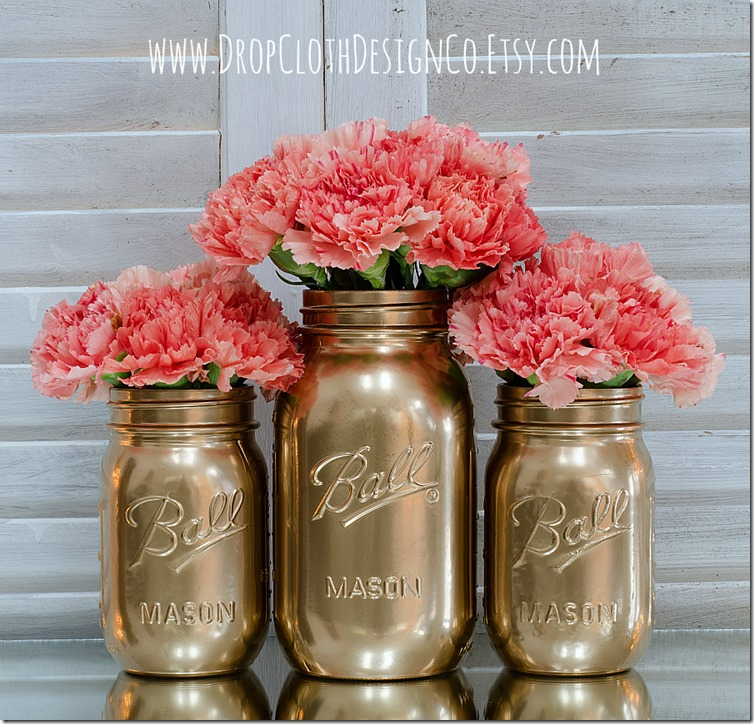 gold-painted-mason-jars-5