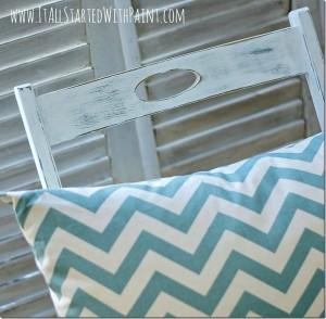 Annie Sloan Chalk Paint-ed Chair