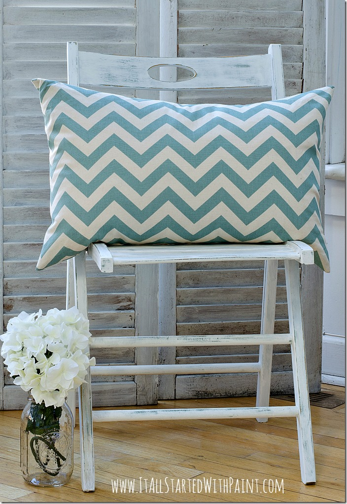 Annie-Sloan-Chalk-Paint-Pure-White-Painted-Chair-22 2