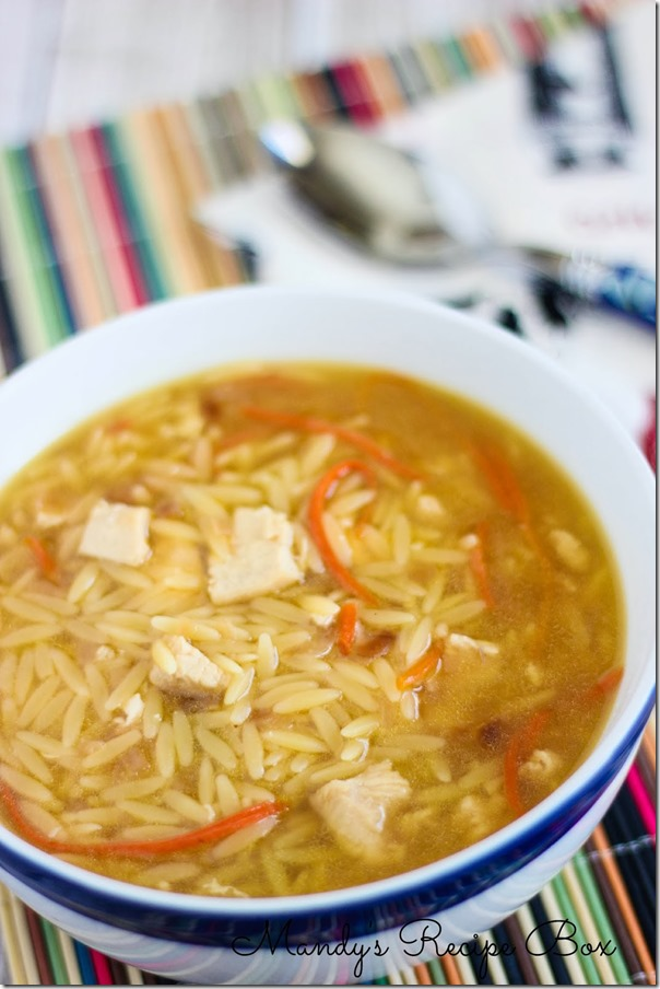 #Chicken #Orzo #Soup