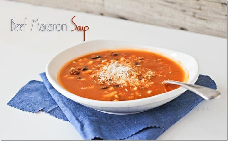beef-macaroni-soup