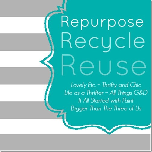 repurpose recycle reuse graphic