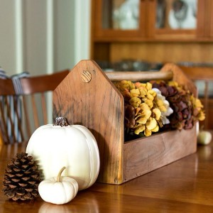 Sharing fall in the dining room today Keeping it simplehellip