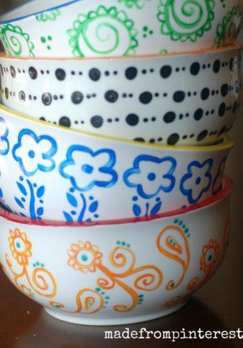 DIY Anthropologie Bowls
