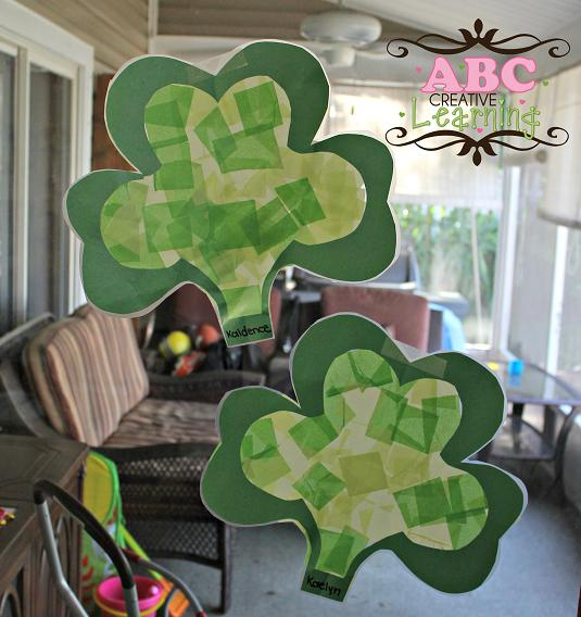 kid craft for st. patrick's day