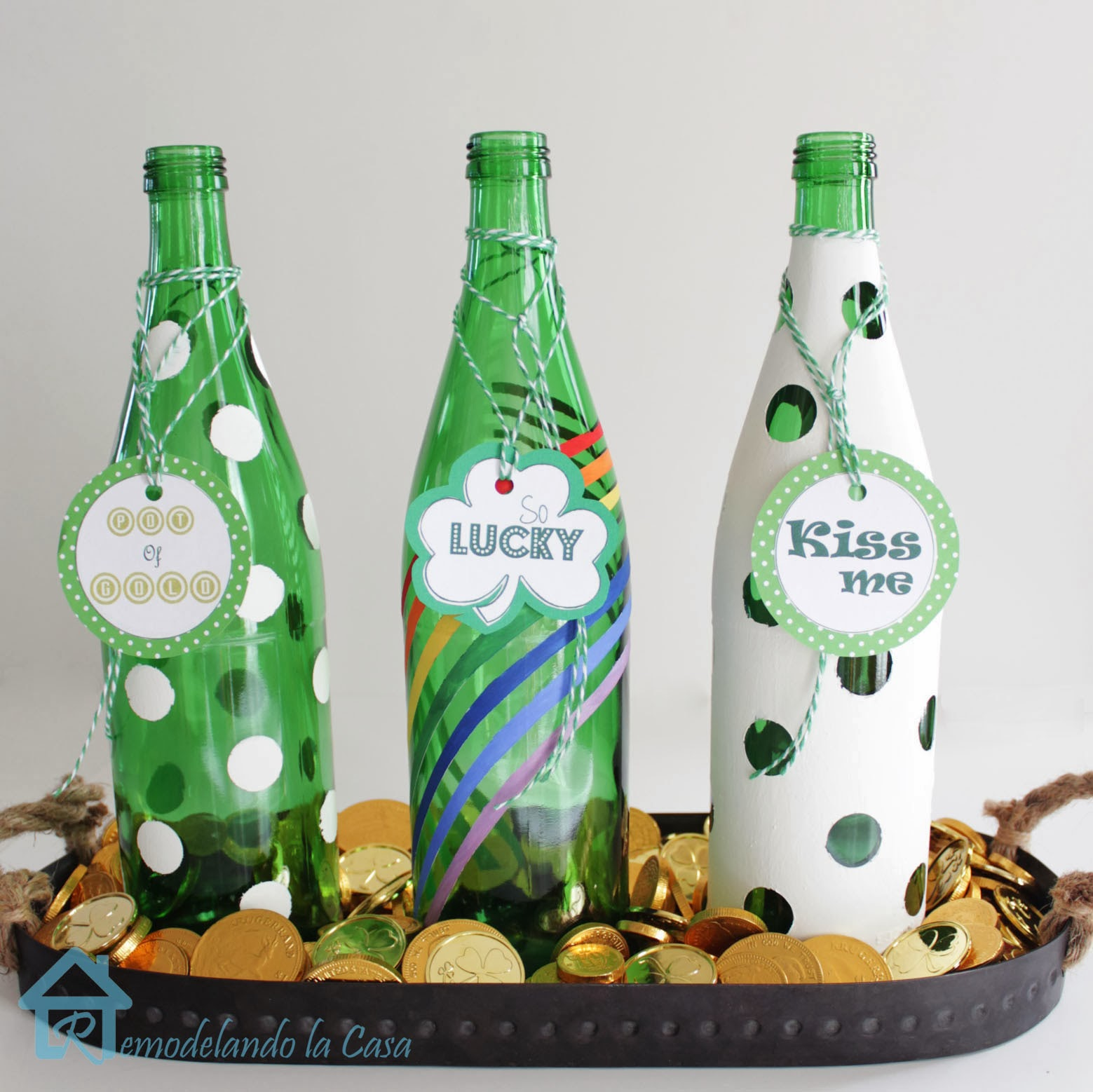 st. patrick day centerpiece