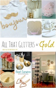 gold decor ideas