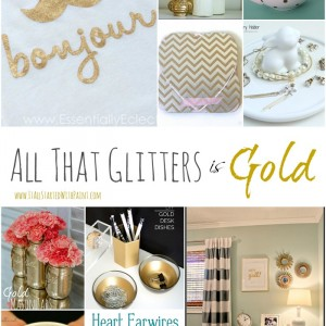 All That Glitters is Gold Decor