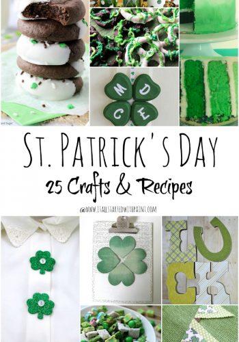 St. Patrick Day Craft Recipe Ideas