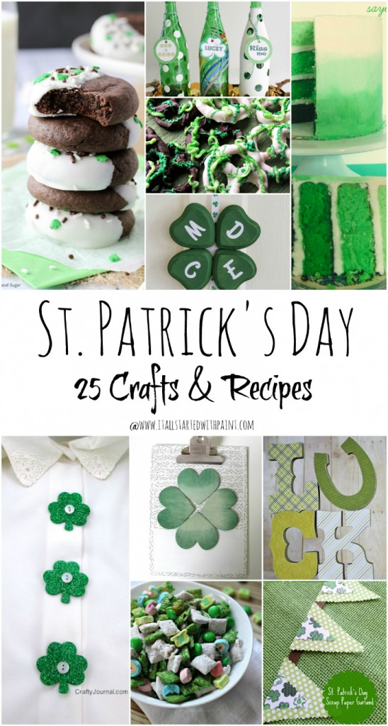 st patrick craft ideas st s day ideas it all started with paint 5482
