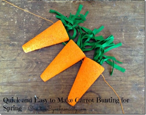 carrot-bunting