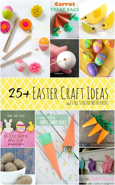Super Crafty Easter On Pinterest Easter Eggs Egg