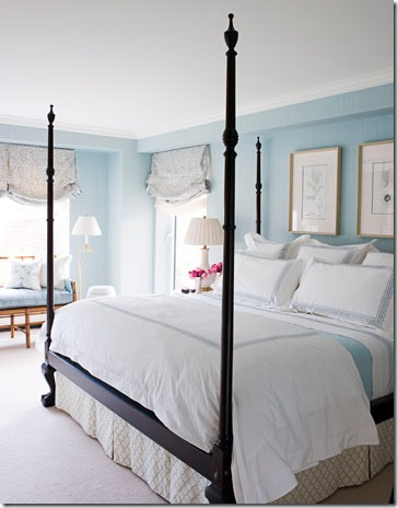 House Beautiful · Blue Bedroom Houzz