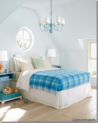blue-bedroom Martha Stewart