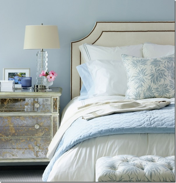 blue-bedroom decor pad