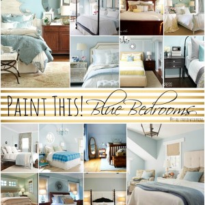 Painted Blue Bedroom Ideas