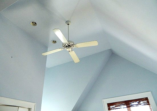 How To Paint Vaulted Ceiling without Scaffolding
