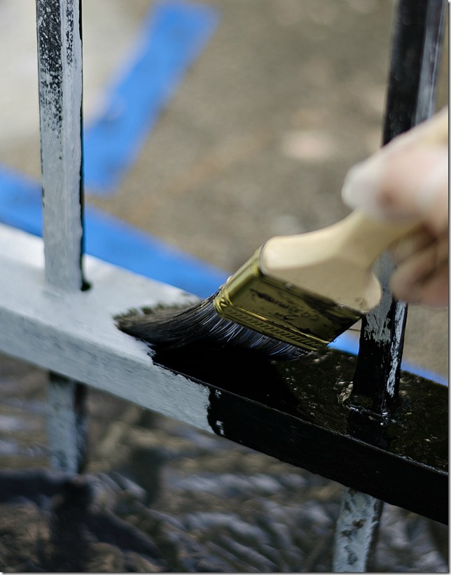 Painting A Wrought Iron Fence