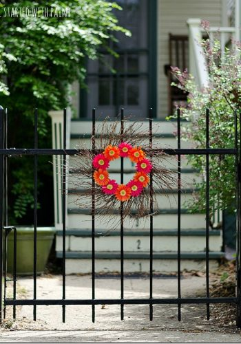 Wrought Iron Fence Paint Tutorial