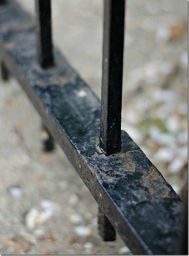 How To Paint Wrought Iron It All Started With