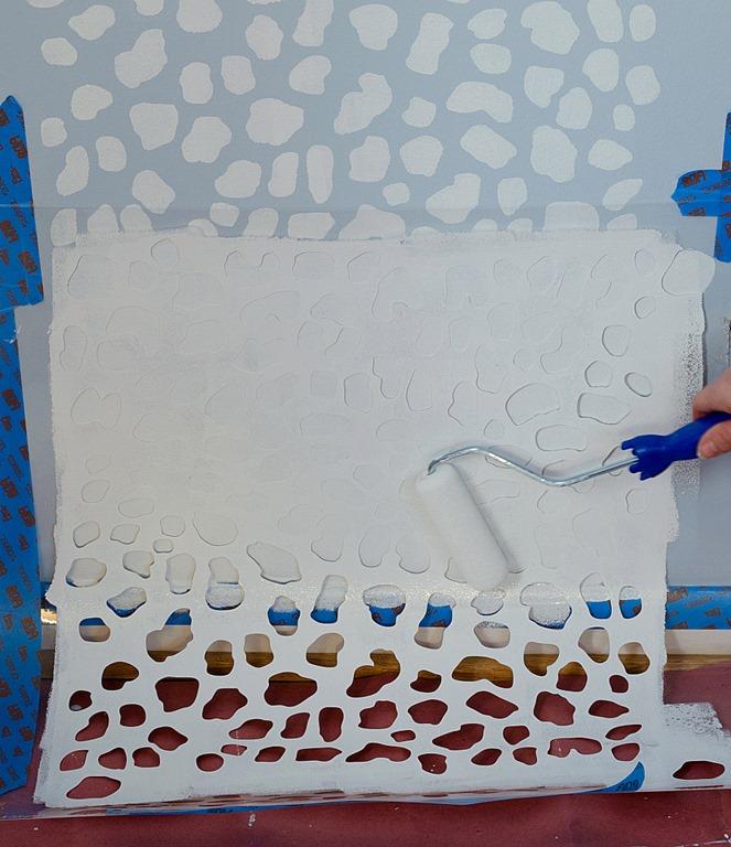 Beautiful how to stencil walls tutorial