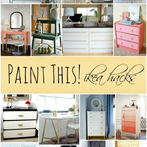 painted ikea furniture