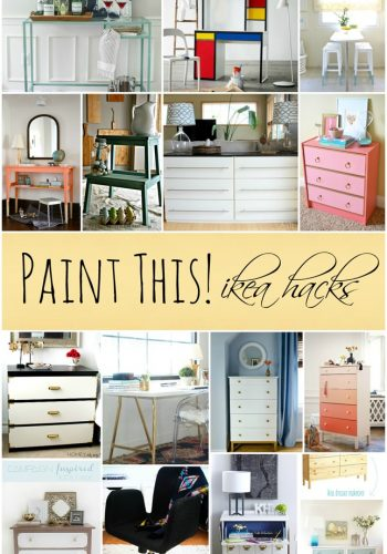 painted ikea furniture