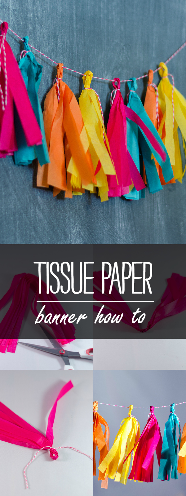 How To Make A Tissue Paper Banner