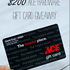 $200 Ace Gift Card Giveaway
