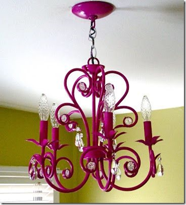 chandelier-makeover-spray-paint Vickie Howell