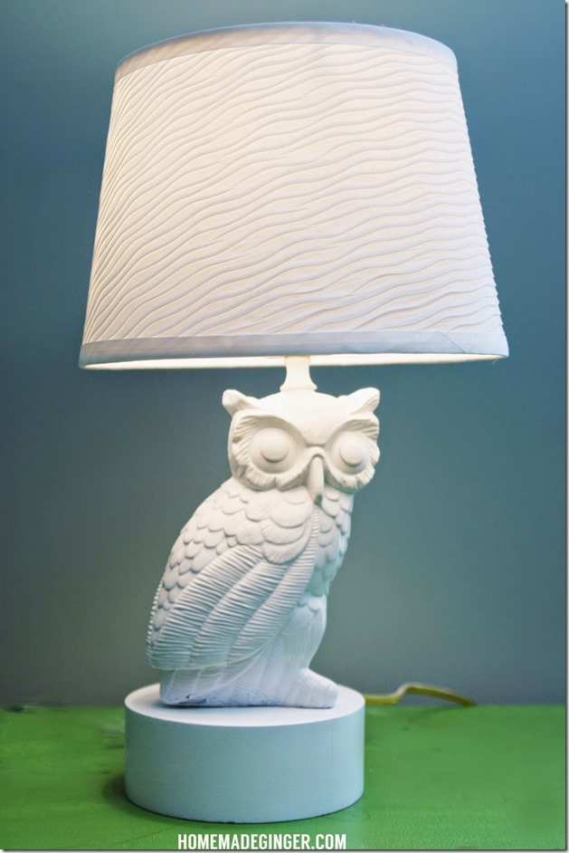 owl-lamp-makeover Home Made Ginger