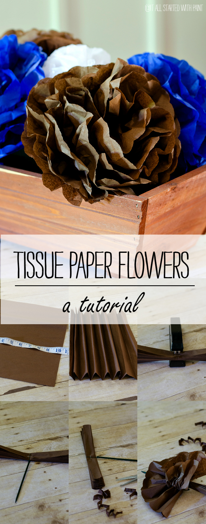 Tissue Paper Flowers: How To Make Tissue Paper Flowers
