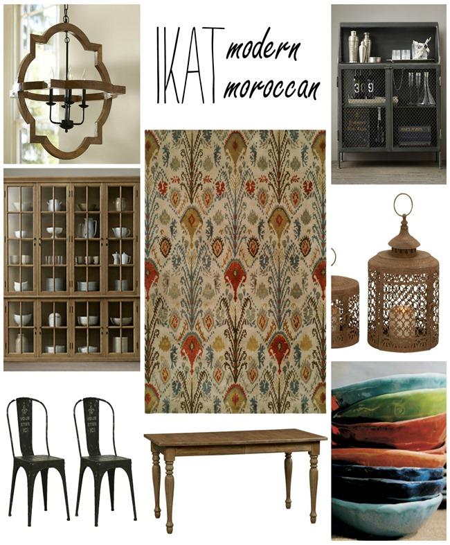 rug-ikat-Moroccan-design-ideas 2